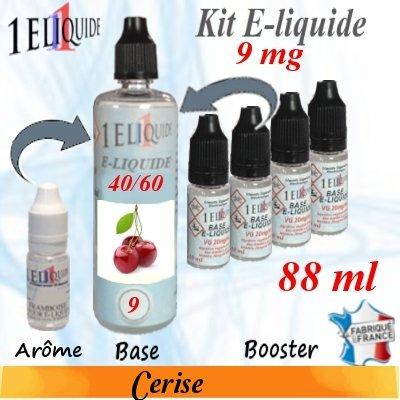 E-liquide-Cerise-9mg 40/60