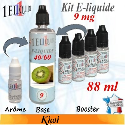 E-liquide-Kiwi-9mg 40/60