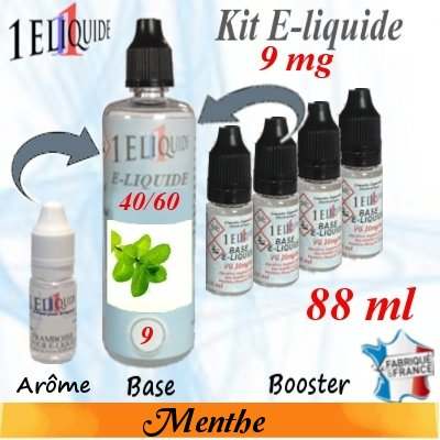 E-liquide-Menthe-9mg 40/60