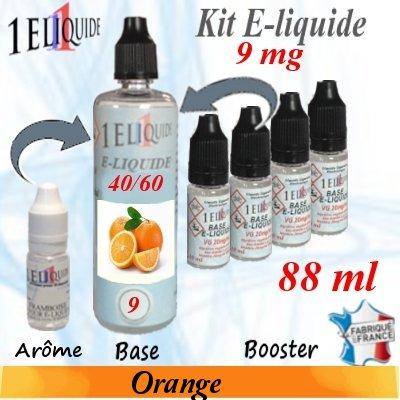 E-liquide-Orange-9mg 40/60