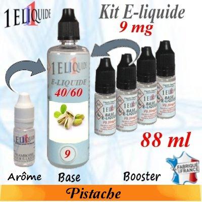 E-liquide-Pistache-9mg 40/60
