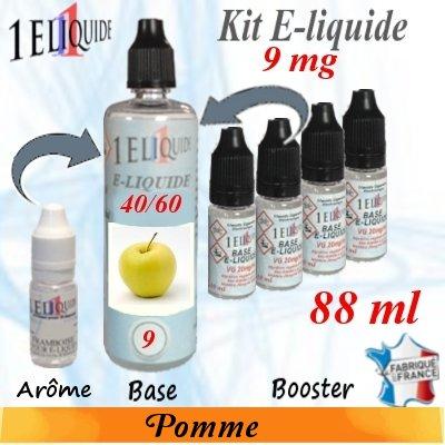 E-liquide-Pomme-9mg 40/60