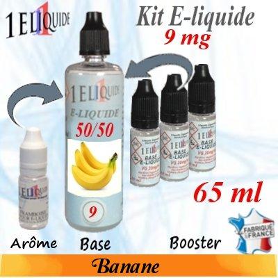 E-liquide-Banane-9mg 50/50