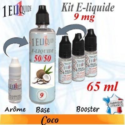 E-liquide-Coco-9mg 50/50
