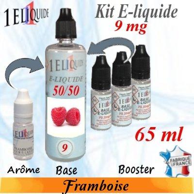 E-liquide-Framboise-9mg 50/50