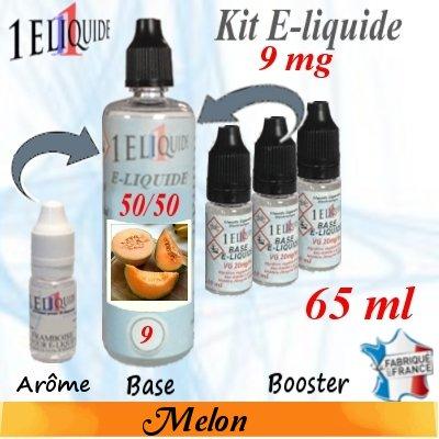 E-liquide-Melon-9mg 50/50