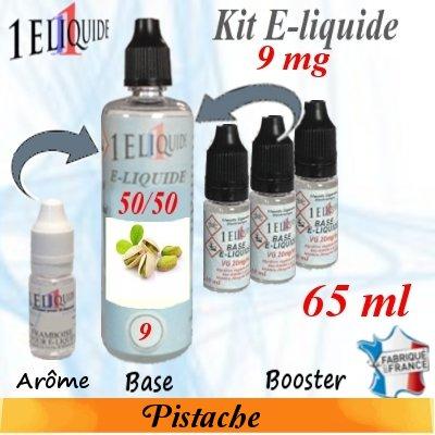 E-liquide-Pistache-9mg 50/50