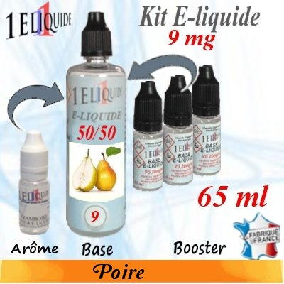 E-liquide-Poire-9mg 50/50