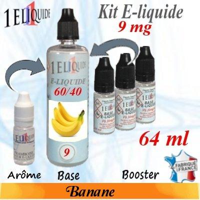 E-liquide-Banane-9mg 60/40