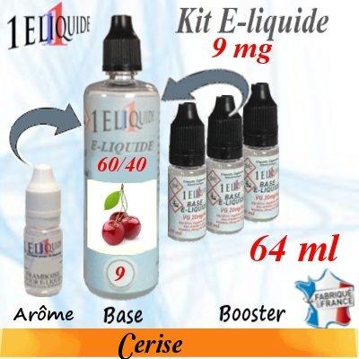 E-liquide-Cerise-9mg 60/40