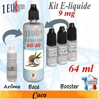 E-liquide-Coco-9mg 60/40