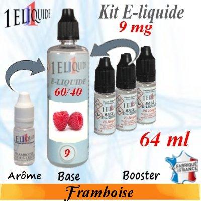E-liquide-Framboise-9mg 60/40