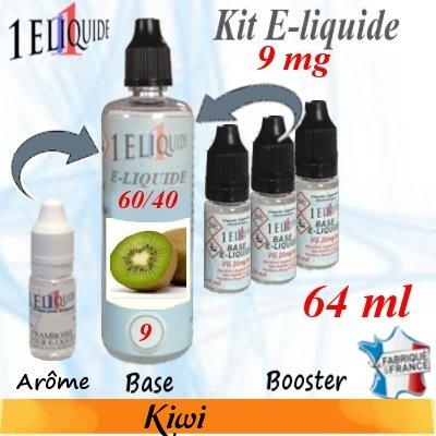 E-liquide-Kiwi-9mg 60/40