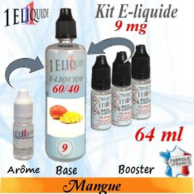 E-liquide-Mangue-9mg 60/40