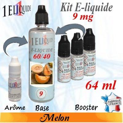 E-liquide-Melon-9mg 60/40