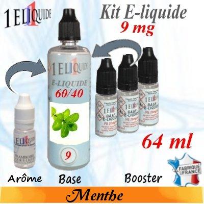E-liquide-Menthe-9mg 60/40