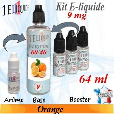 E-liquide-Orange-9mg 60/40