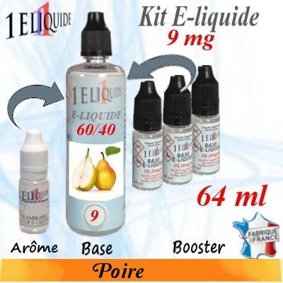 E-liquide-Poire-9mg 60/40