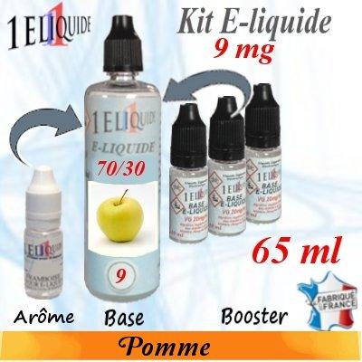 E-liquide-Pomme-9mg 70/30