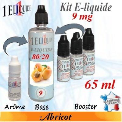 E-liquide-Abricot-9mg 80/20