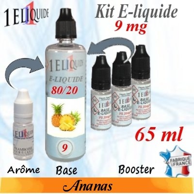 E-liquide-Ananas-9mg 80/20