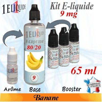 E-liquide-Banane-9mg 80/20