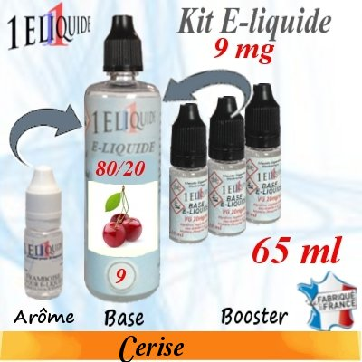 E-liquide-Cerise-9mg 80/20