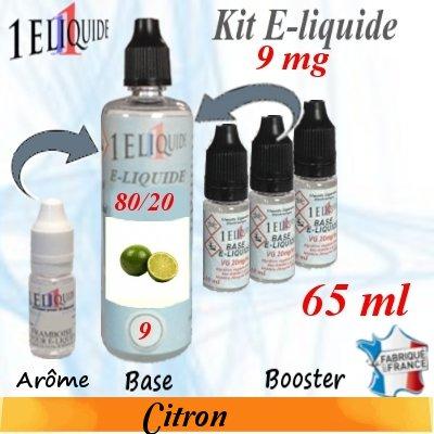 E-liquide-Citron-9mg 80/20