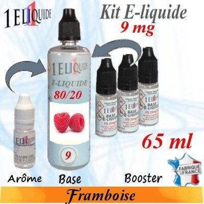 E-liquide-Framboise-9mg 80/20