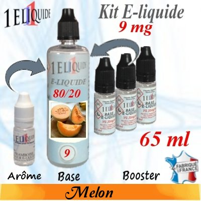 E-liquide-Melon-9mg 80/20