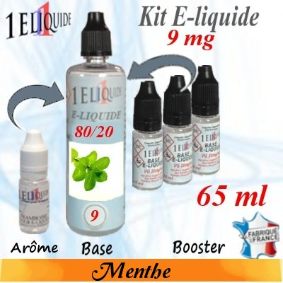 E-liquide-Menthe-9mg 80/20