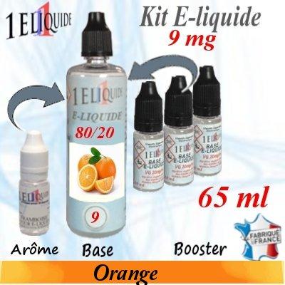 E-liquide-Orange-9mg 80/20