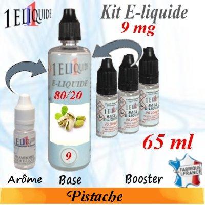 E-liquide-Pistache-9mg 80/20