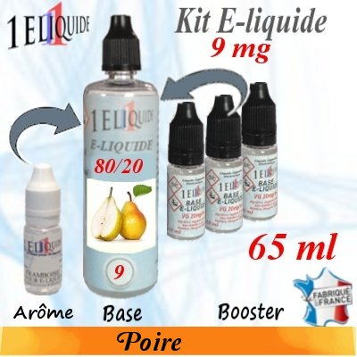 E-liquide-Poire-9mg 80/20