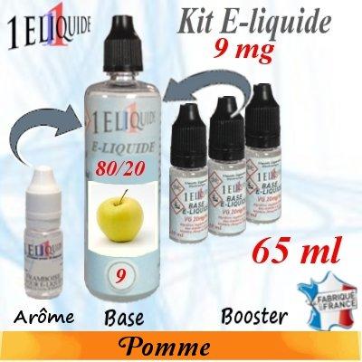 E-liquide-Pomme-9mg 80/20